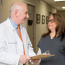 Dr. Imbornone and Medical Assistant