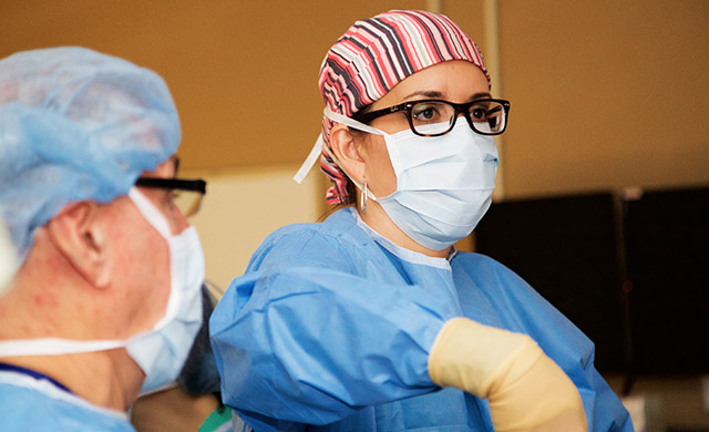 Female bariatric surgeon