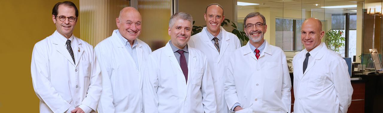 Drs. Goldweit, Leber, Katechis, Shatzkes, Erlebacher, and Wilkenfeld