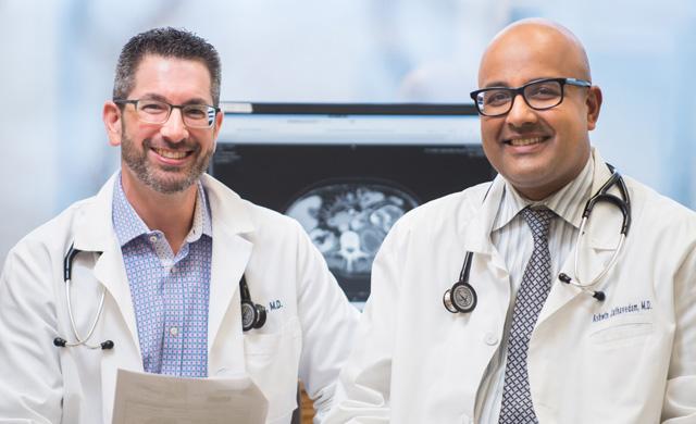 Drs. Gura and Jathavedam