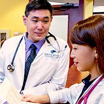 Dr. Shiu and medical staff