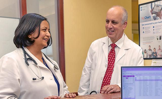 Dr. Nandita Joshi and Glenn Brautuch