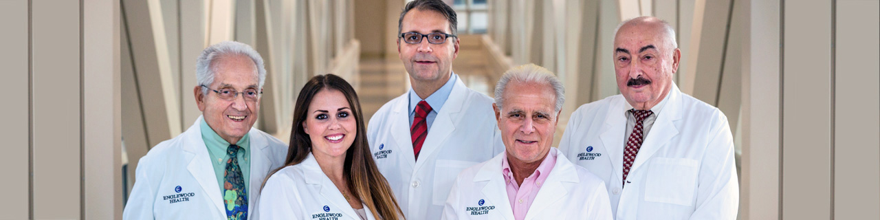 Dr. Dardik, Courtney Cox, PA, Drs. Bernik, Elias, and Cioroiu